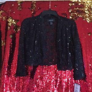 R&M Richards Lace Bolero Jacket
